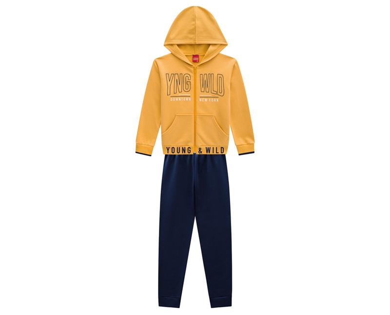 Conjunto Infantil Masculino Jaqueta e  Calça - KYLY 207217