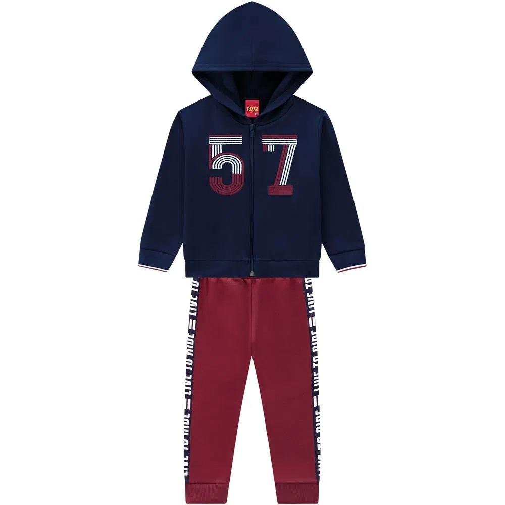 Conjunto Infantil Masculino Jaqueta E Calça  - KYLY 207472