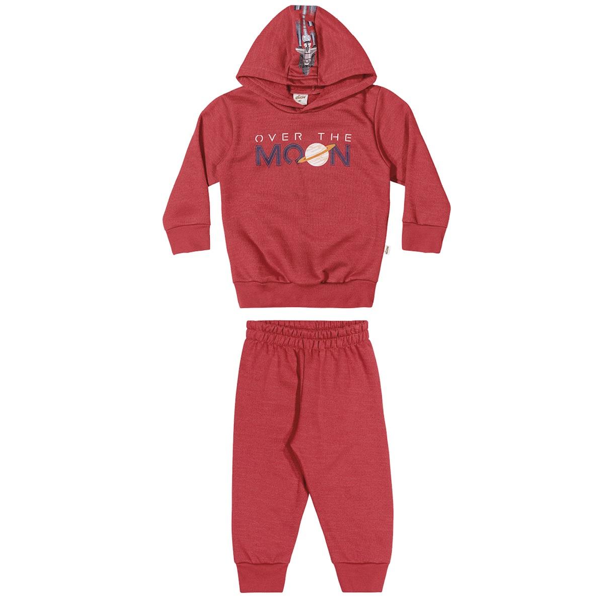 Conjunto Infatil Masculino Blusão e Calça - ELIAN 221110