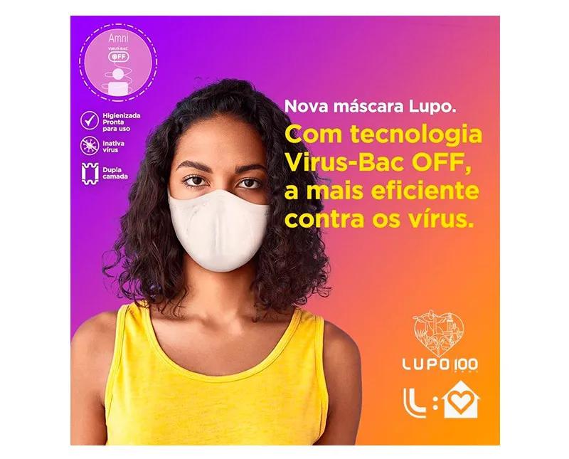 KIT MÁSCARA BAC OFF INFANTIL - LUPO 36000-9051700900
