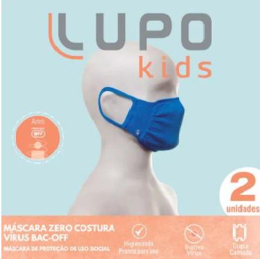 KIT MÁSCARA BAC OFF INFANTIL ZERO COSTURA - LUPO 36003-9001700902