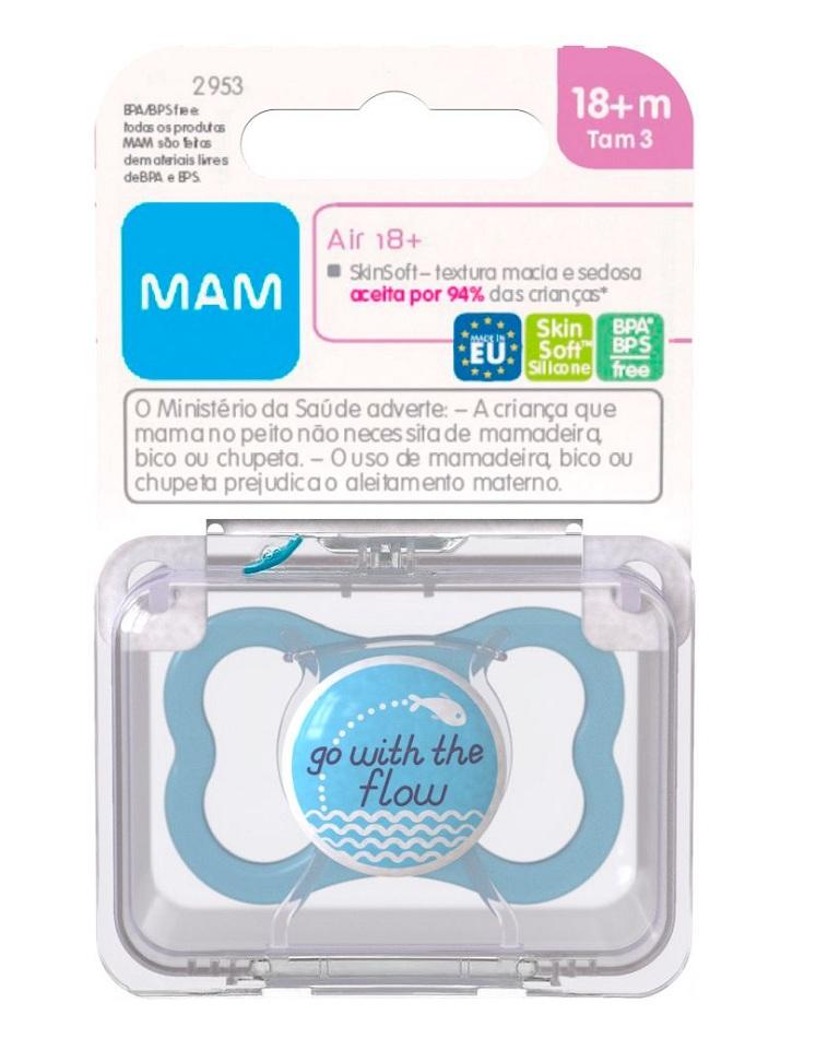 MAM 2953 - CHUPETA MAM AIR 18+ AZUL