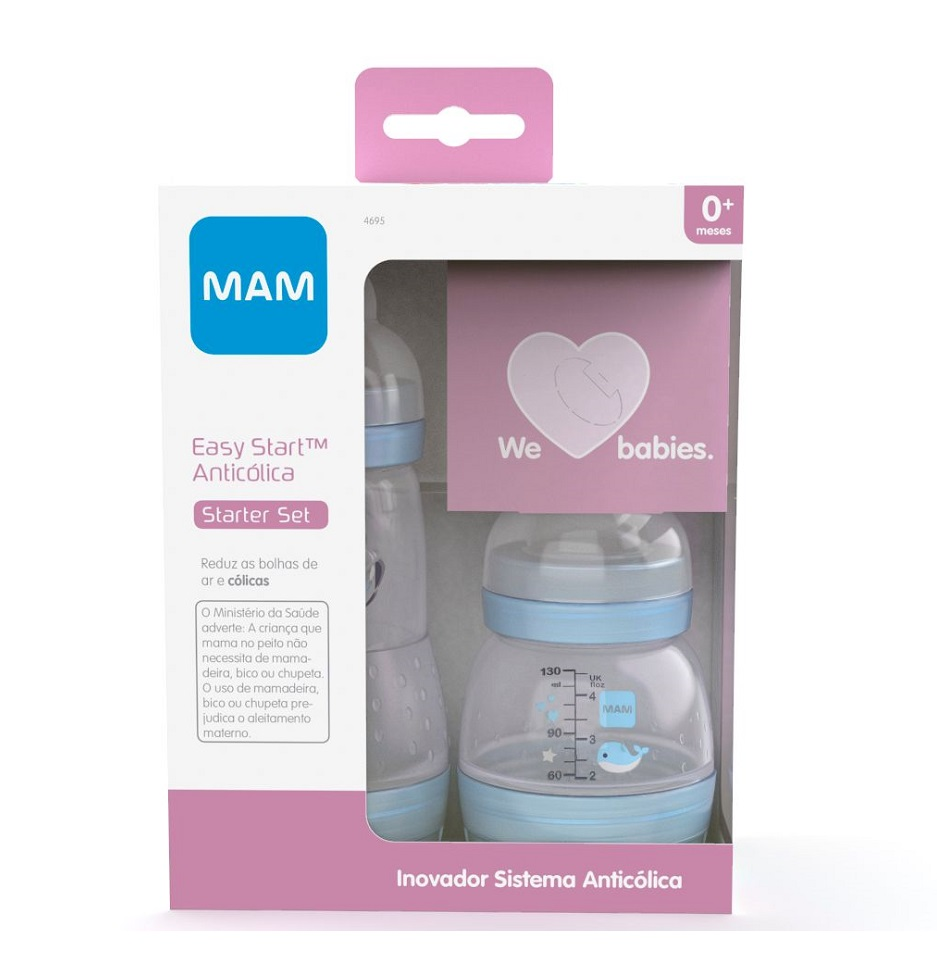 MAM 4693 - MAMADEIRA MAM EASY START - STARTER SET AZUL