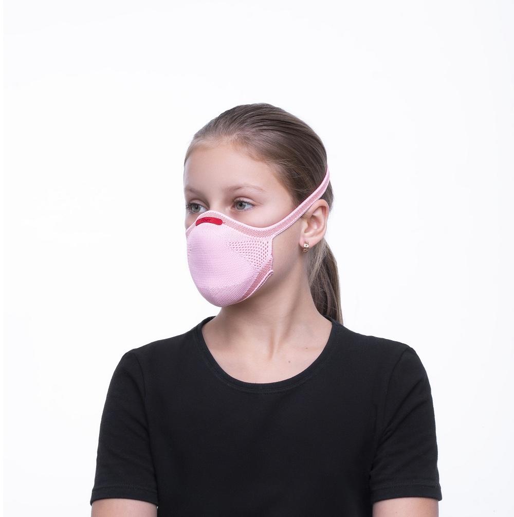 Máscara De Proteção Infantil Fiber Knit 3d