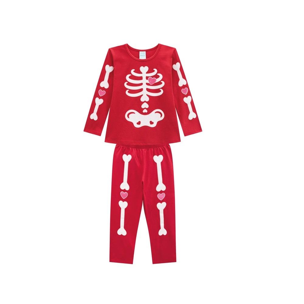 Pijama Infantil Feminino Blusa e Calça - KYLY 207237