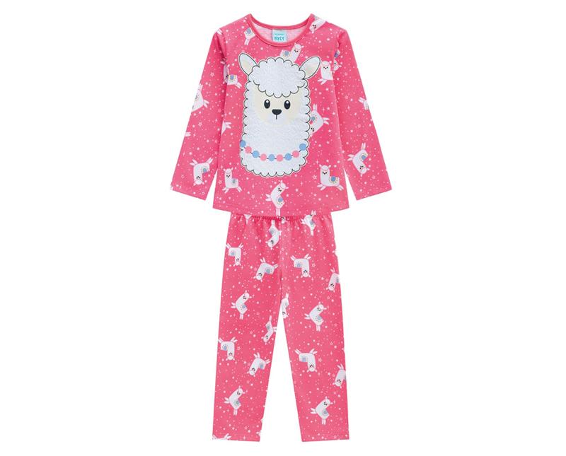Pijama Infantil Feminino Blusa e Calça - KYLY 207239