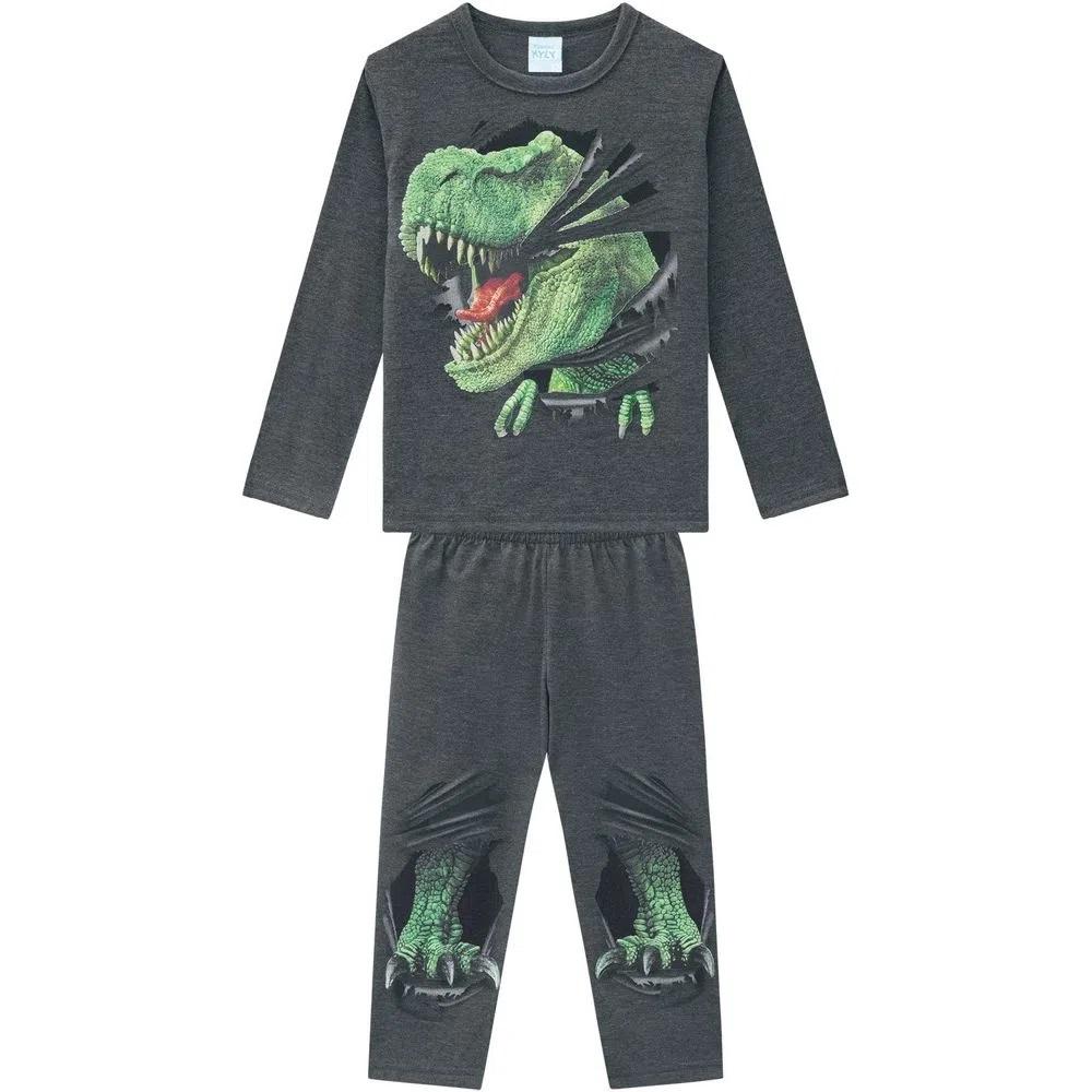 Pijama Infantil Masculino Camiseta E Calça- KYLY 207548