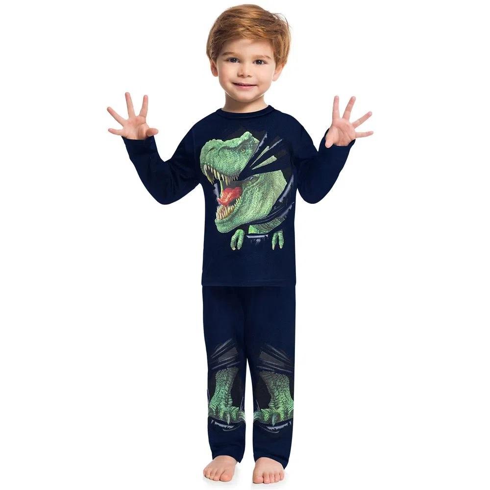 Pijama Infantil Masculino Camiseta E Calça KYLY 207548