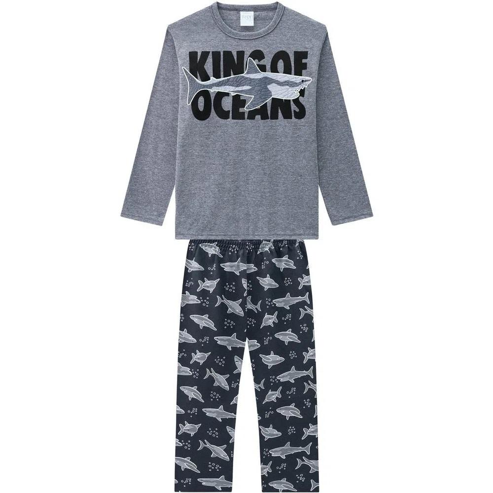 Pijama Infantil Masculino Camiseta E Calça - KYLY 207553