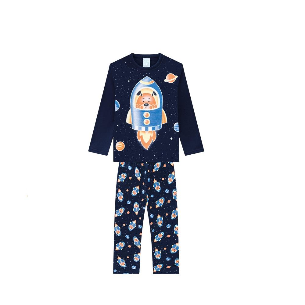 Pijama Infantil Masculino Casaco E Calça - KYLY 207541