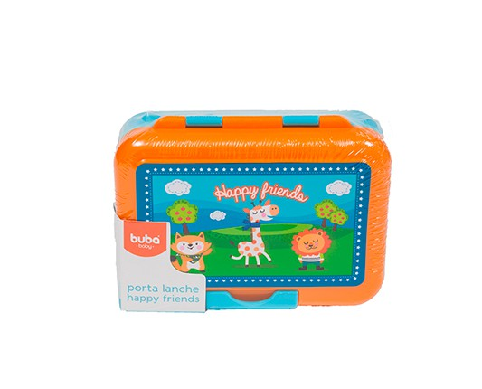 PORTA LANCHES HAPPY FRIENDS - BUBA 6855