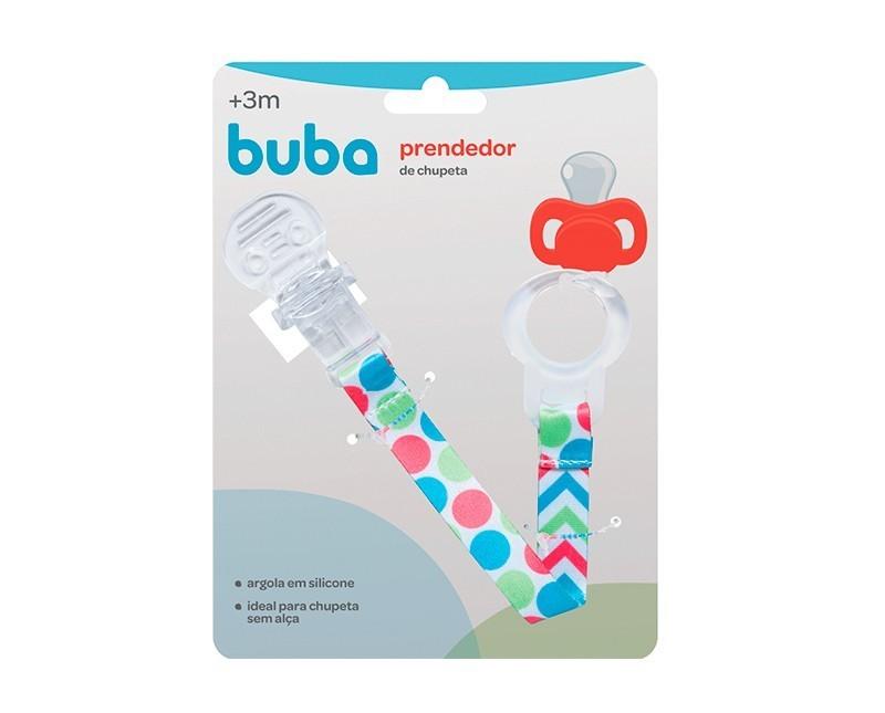 PRENDEDOR DE CHUPETA BABY COLORS - BUBA 08557