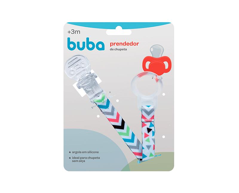 PRENDEDOR DE CHUPETA BABY SHAPES - BUBA 08558