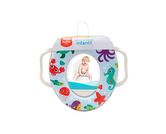 REDUTOR DE ASSENTO INFANTIL FUNDO DO MAR - BUBA 09809