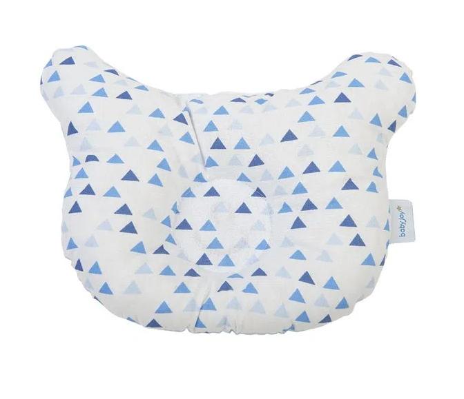 Travesseiro Anatômico Baby Joy Trends  Brilha no Escuro Azul