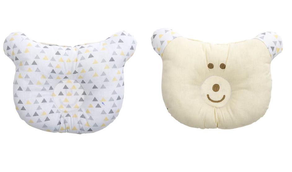 Travesseiro Anatômico BabyJoy Trends Brilha no Escuro Neutro