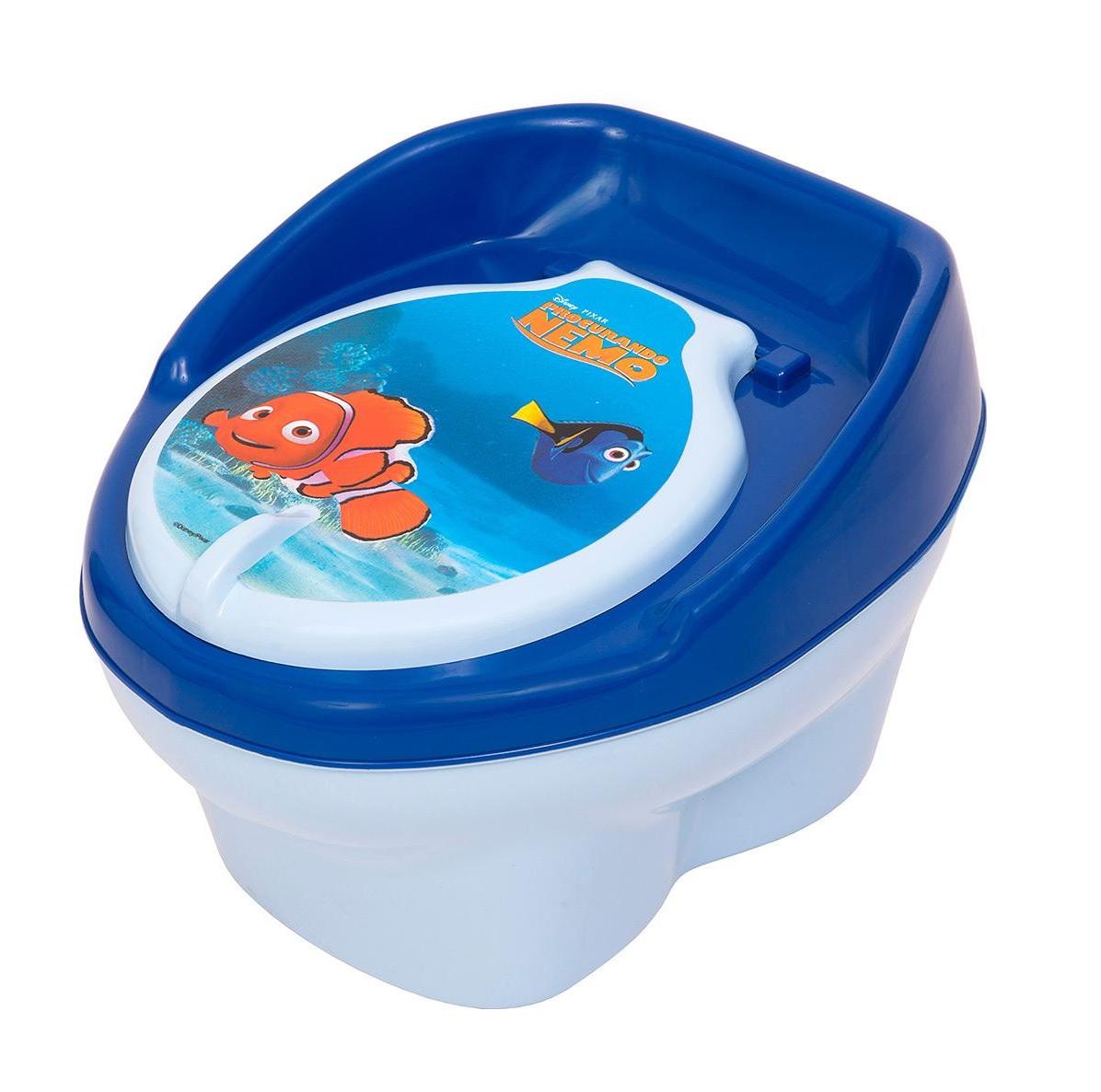 Troninho Infantil Penico Para Bebê 2 Em 1 Nemo Disney