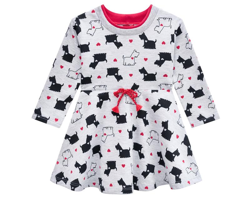 Vestido Infantil Moletinho - KYLY 207091