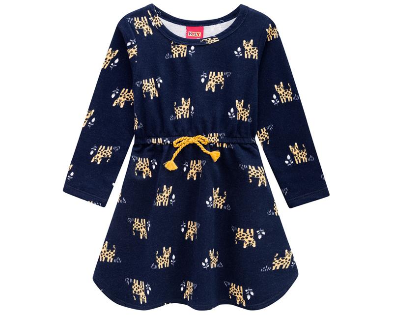Vestido Infantil Moletinho -  KYLY 207120