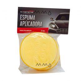 Espuma Aplicadora Amarela (Kit C/2) - Autoamerica