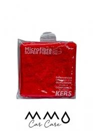 Toalha de Microfibra Super Fiber 40x60cm Vermelha