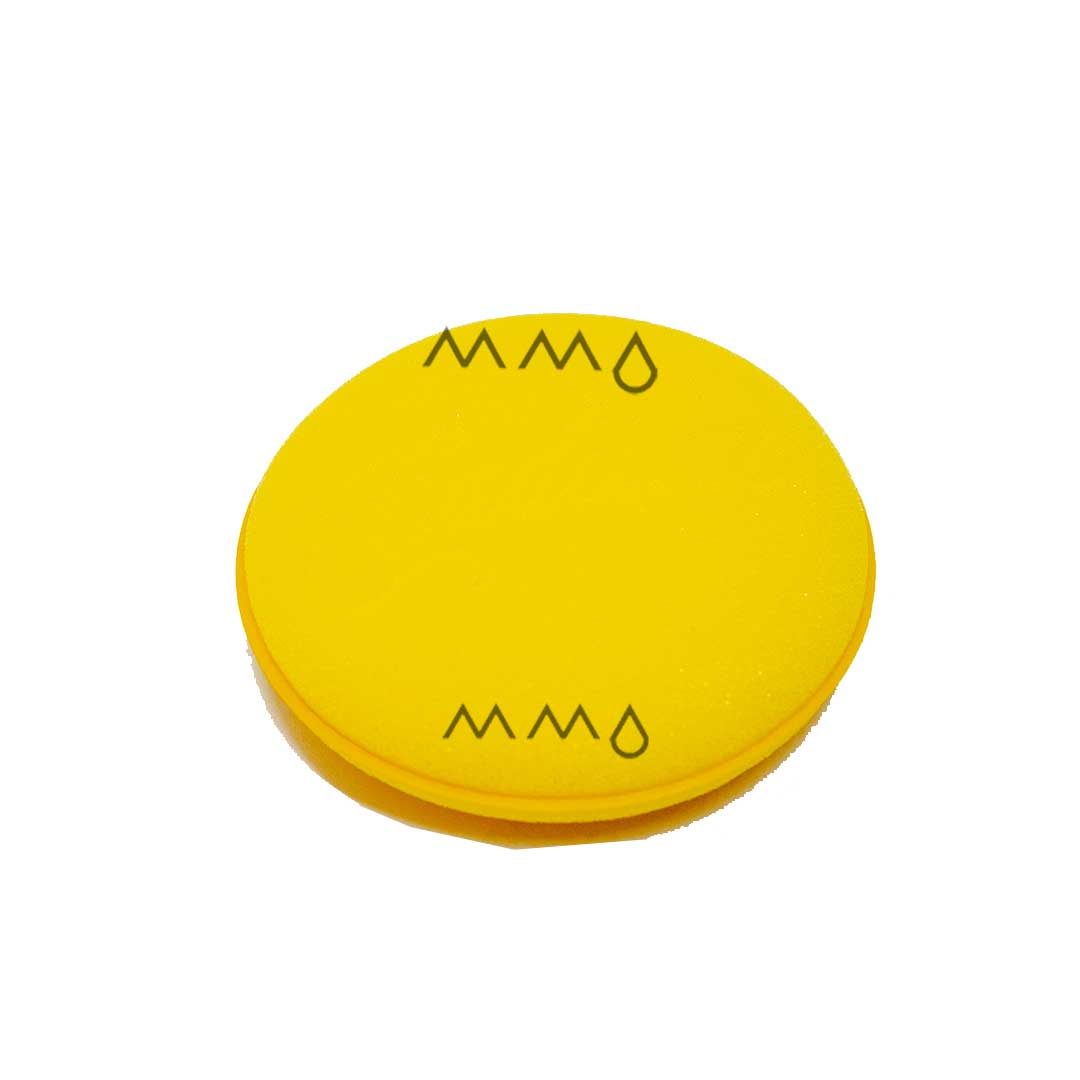 Aplicador Espuma Amarelo - Enceramento