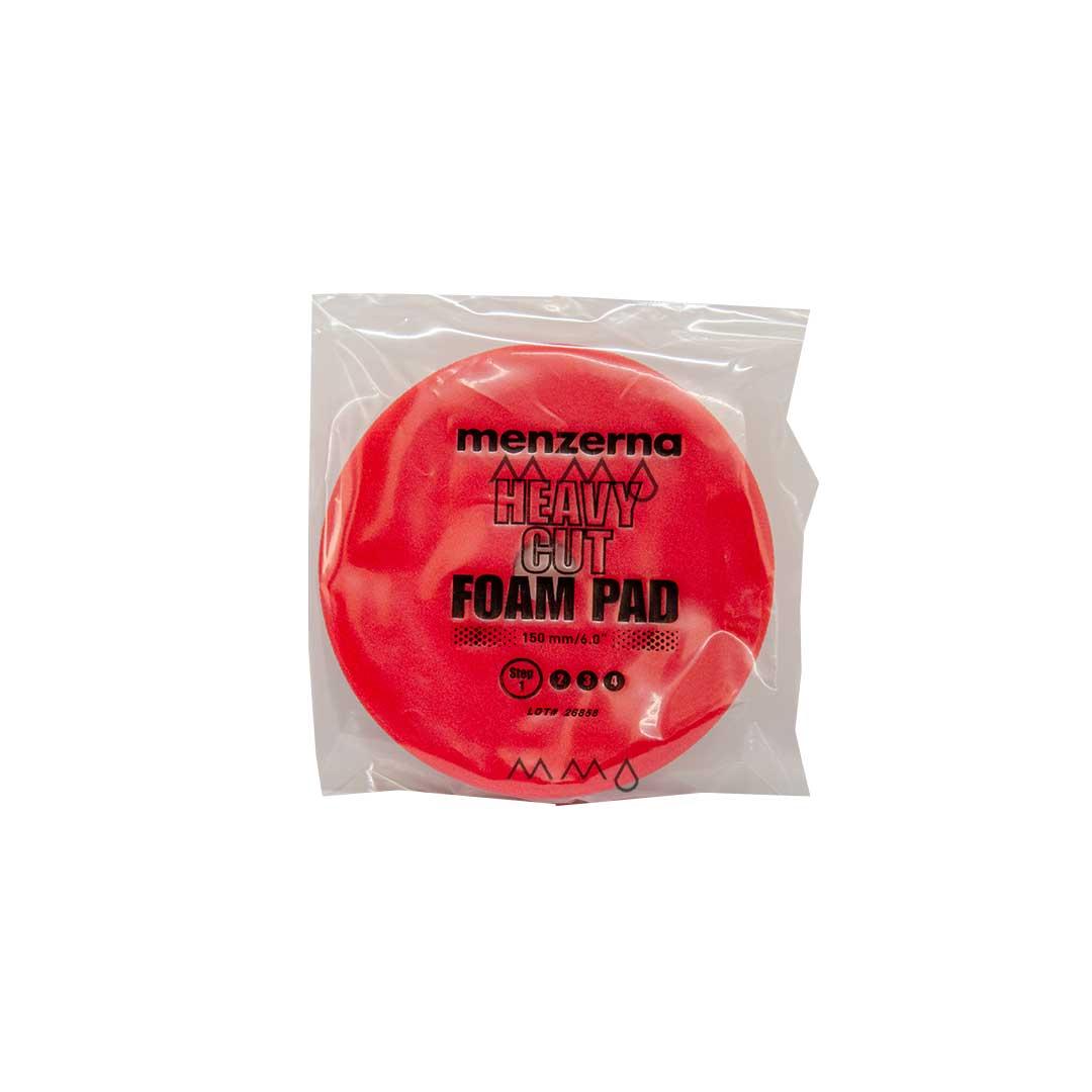 BOINA CORTE HEAVY CUT FOAM PAD RED MENZERNA 150MM/5