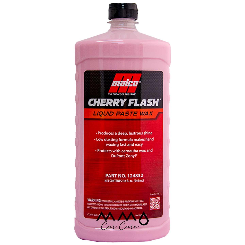 CERA LIQUIDA MALCO CHERRY FLASH WAX 946 ML
