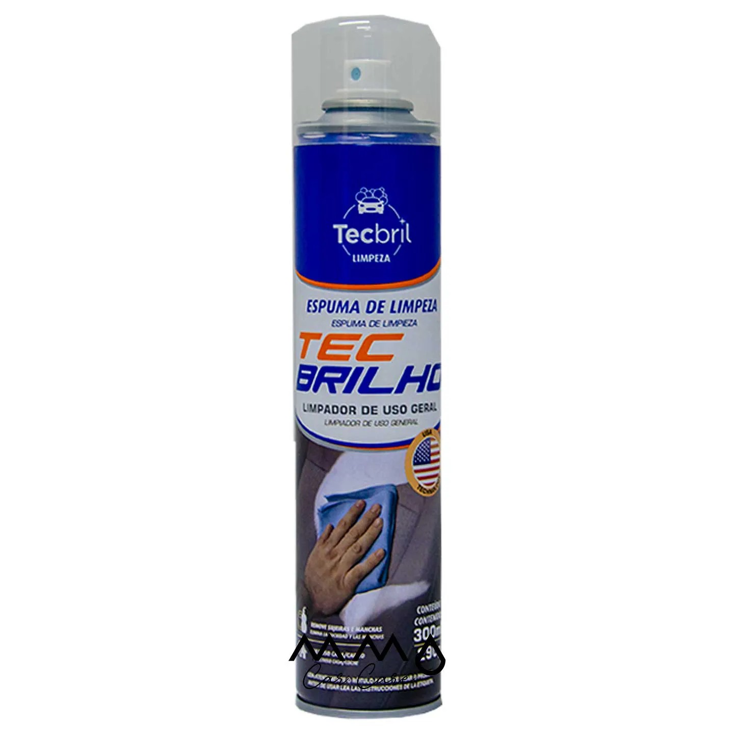 ESPUMA DE LIMPEZA TECBRIL 300ML