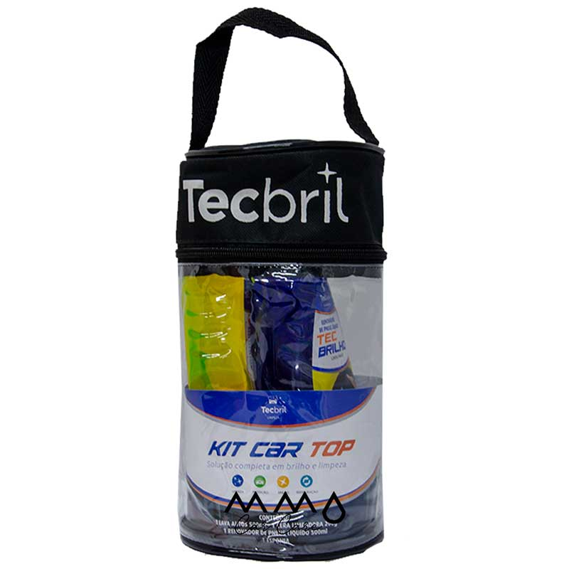 KIT TECBRIL LIMPEZA CAR TOP