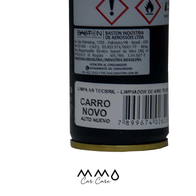 LIMPA AR-CONDICIONADO GRANADA TECBRIL CARRO NOVO 150ML