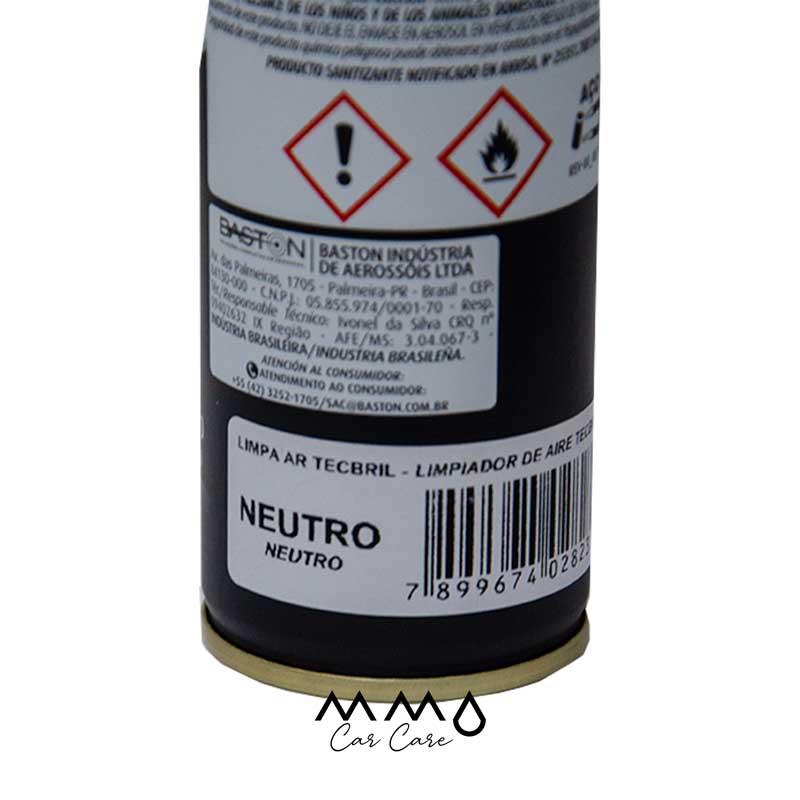 LIMPA AR-CONDICIONADO GRANADA TECBRIL NEUTRO 250ML