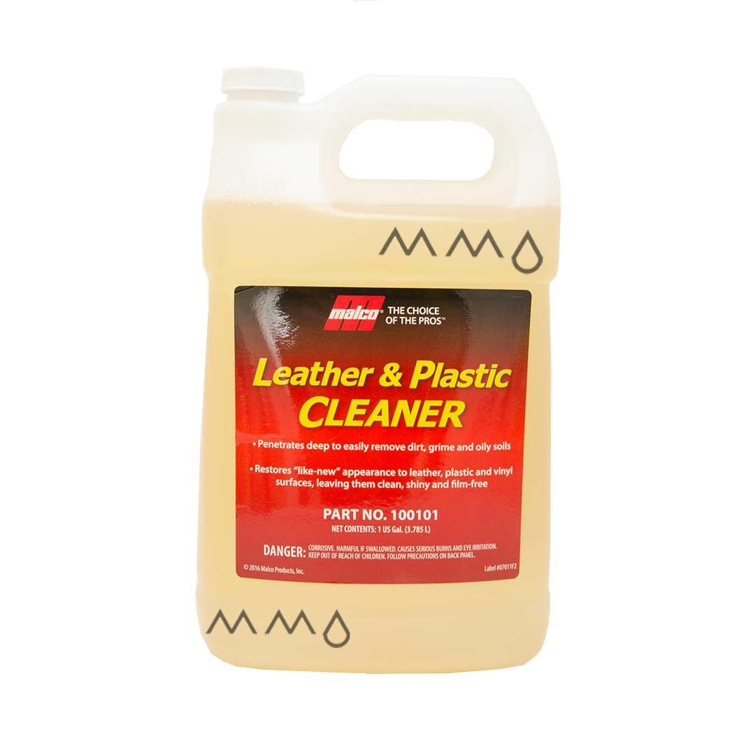 Limpador de Couro e Plásticos Malco Leather e Plastic Cleaner - Galão