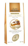 Chocolate italiano Confetti - Amêndoa coberta de chocolate branco sabor Baba Panna
