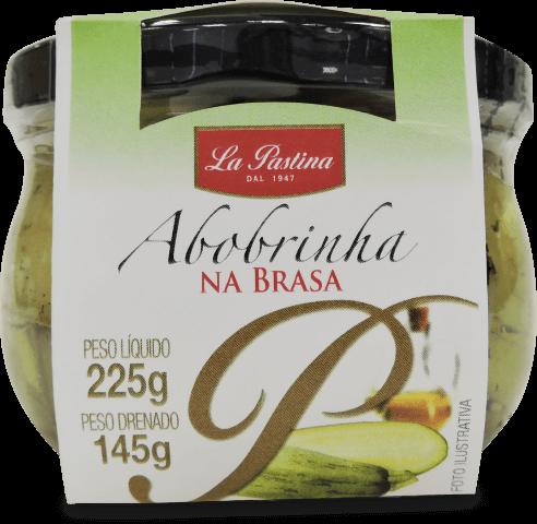 Abobrinha na brasa em óleo de girassol La Pastina