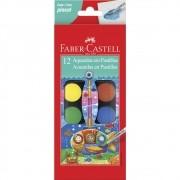 Aquarela 12 cores Faber-Castell