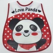 Avental infantil Panda Novo Século