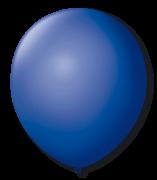Balão n°7 50 un azul cobalto São Roque