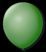 Balão n°7 50 un verde bandeira São Roque