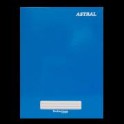 Caderno brochura 1/4 96 fls azul Panamericana