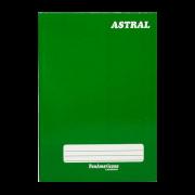 Caderno brochura 1/4 96 fls verde Panamericana