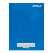 Caderno brochura 96 fls azul Panamericana