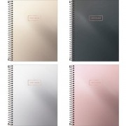 Caderno colegial 10 matérias 160 fls West Village Metalizado Tilibra