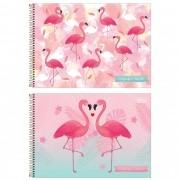 Caderno desenho 80 fls Aloha Tilibra