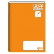 Caderno quadriculado 10x10 96 fls laranja Stiff Foroni