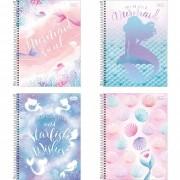 Caderno universitário 10 matérias 160 fls Wonder Tilibra