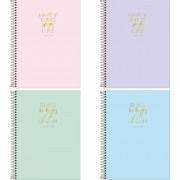 Caderno universitário 12 matérias 192 fls Happy Tilibra
