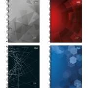 Caderno universitário 16 matérias 256 fls ZIp Tilibra