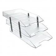 Caixa correspondência tripla articulável cristal Acrimet