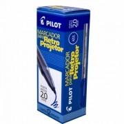 Caneta retroprojetor 2.0 azul 12 un Pilot